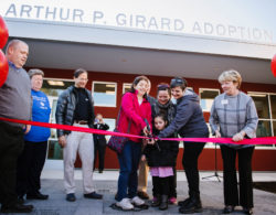It's the 1 year anniversary of our Arthur P. Girard Adoption Center